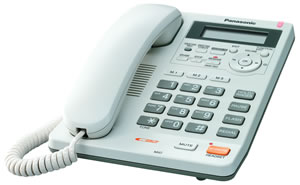 Speakerphone w/ Caller ID - White