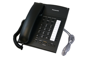 Single Line Speakerphone in black