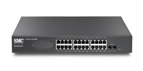 24 port Gigabit Smart Switch w 24PoE