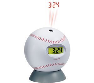 Baseball Projection Clock