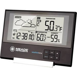 Slim Line Station with Time/Temp/Forecas