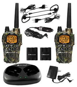 MOSSY OAK 50 CHL./3O MILE 2-WAY RADIO
