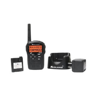 SAME hand held radio w/accessories