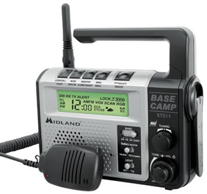 GMRS Emergency Radio DynamoCrank