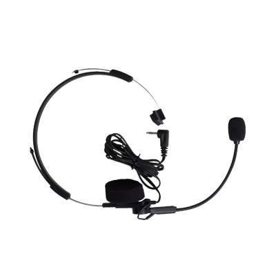 Headset w/ swivel boom mi