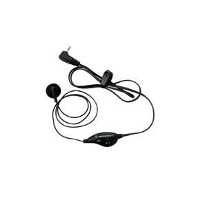 Earbud w/PTT Mic for Motorola