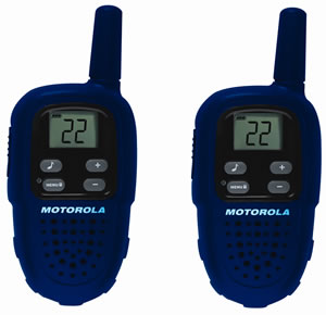 2-Way Radio 2PK AAA 10 Mile Range