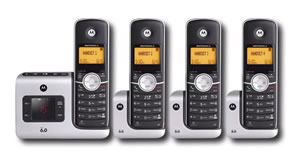 Motorola DECT 6.0 with 4 Handsets