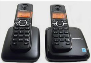 DECT6.0 digital wireless phone-2 handset