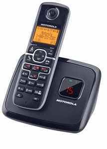 DECT6.0 cordless w/ answering-1 handset