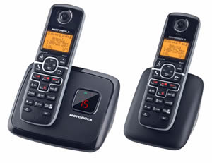 DECT6.0 cordless w/ answering-2 handsets