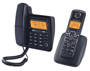 DECT6.0digitalcordless/corded w/ans