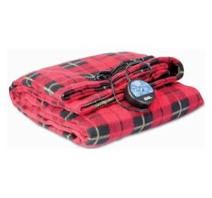 Comfy Cruise 12V Heated Plaid Blanket