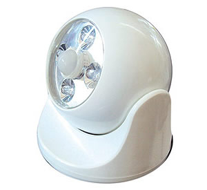 Battery Powered Motion Light - WHITE