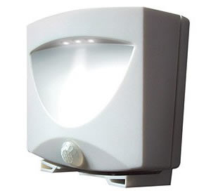 Battery Powered Outdoor Night Light - WH