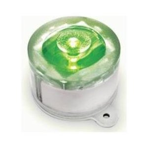 Green Solar Marker Lights - 2 PK
