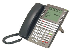 DSX VoIP Super Display Telephone - Black