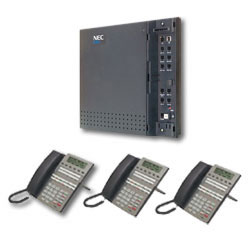 KIT DSX40 Kit (4x8x2) w/ 3 Telephones