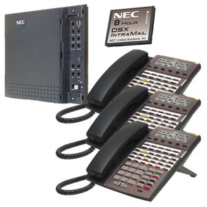 KIT DSX40 and IntraMail and 3 34B Phones