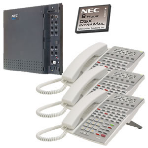 KIT DSX40 and IntraMail and 3 34W Phones