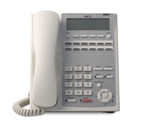 SL1100 12-Button Full-Duplex Tel (WH)