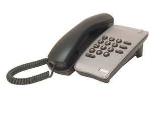 DTR-1-1 BLACK Single Line Phone