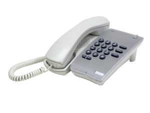 DTR-1-1 Single Line Phone - White