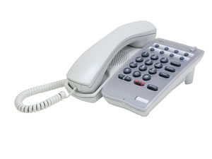 DTR-1HM-1 Single Line Phone - White