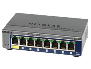 NETGEAR 8-port Gigabit Smart Switch