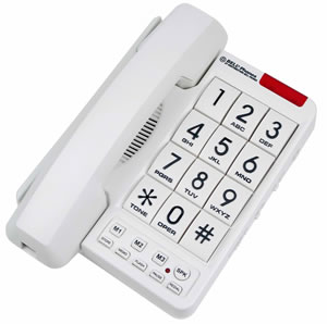 MB2060-1 Big Button Phone White