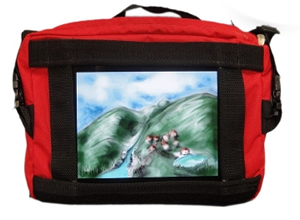 Original Red iPad Bag