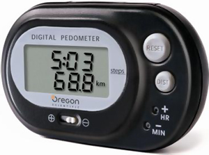 Pedometer with Distance Counter