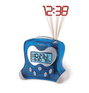 ExactSet Projection Clock BLUE