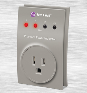 Save a Watt Phantom Power Indicator