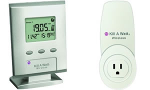 Kill A Watt Wireless Display and Sensor