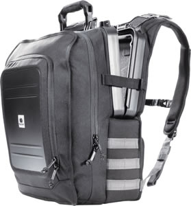 U140 Elite Tablet Backpack Black