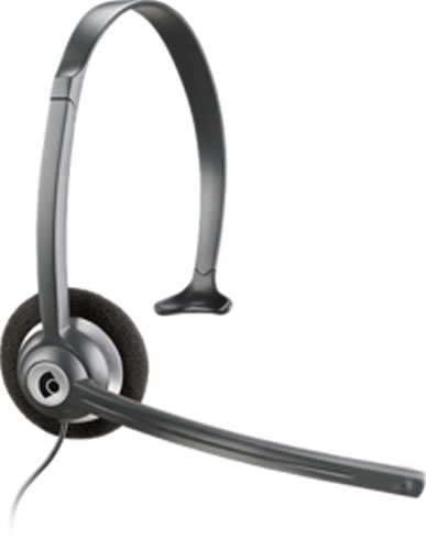 Over-the-Head 2.5mm Headset