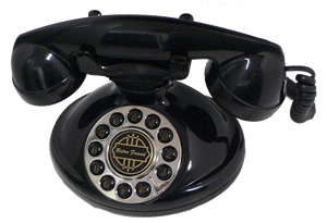 Christie 1921A Decorator Phone BLACK