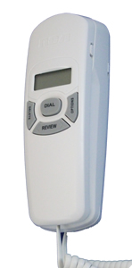 Trimline Caller ID Phone in White