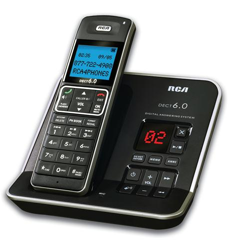 DECT 6.0 Digital Cordless Phone with Ans