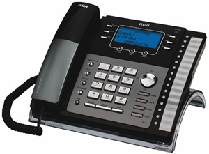 RCA 4-Line EXP Speakerphone w/ Intercom