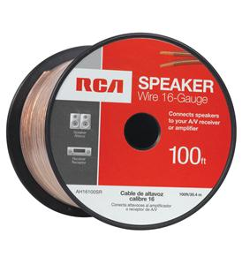 100 FT 16 GAUGE SPEAKER WIRE (SPOOL)