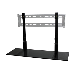 "36"" Black Glass TV SmartShelf"