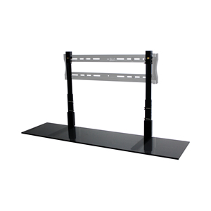 "48"" Black Glass TV SmartShelf"