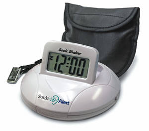 Sonic Bomb Travel Alarm Clock