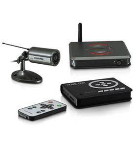 Outdoor/Indoor Wireless Camera Kit, SD