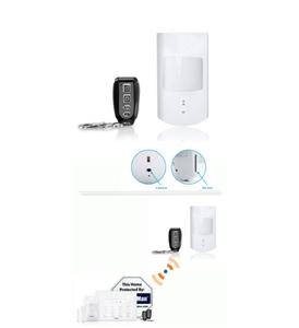 PIR Motion Sensor Hidden Camera/SD Slot