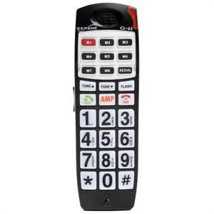 HD talking CID cordless handset