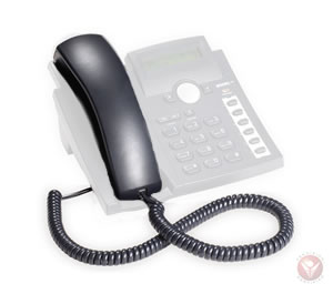 Spare Handset for 300 phones BLACK