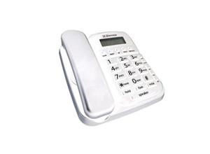 Big Button Spkr phone CID Whtie